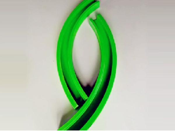 高耐磨弧形链条导轨