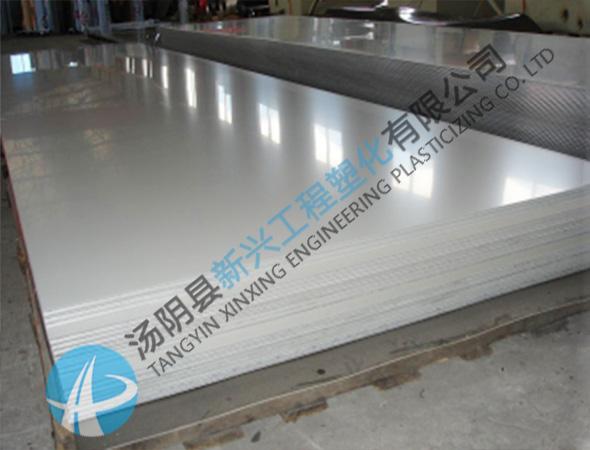 纺织机械用白色耐冲击upe板