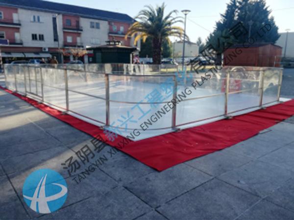 室内外校园冰壶赛道